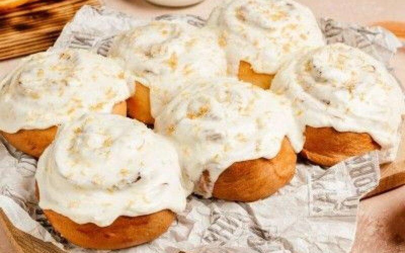 Французские булочки с лимонным курдом