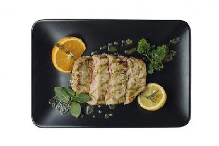 Филе тунца с мидиями и соусом Карри Глубинный дайвинг
