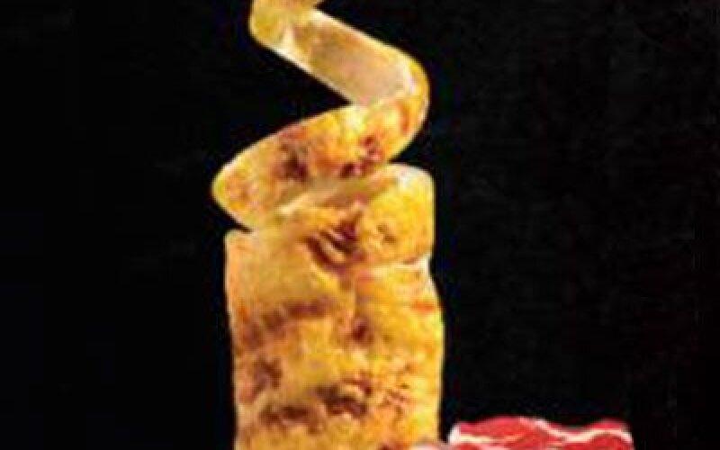 Трдельник с сыром и беконом