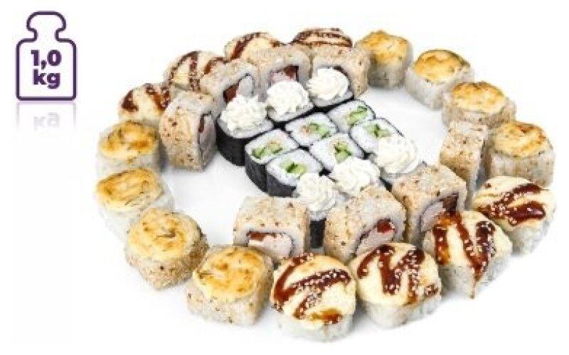 Суши-сет «1 килограмм с Хокку»