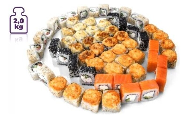 Суши-сет « 2 кг роллов»