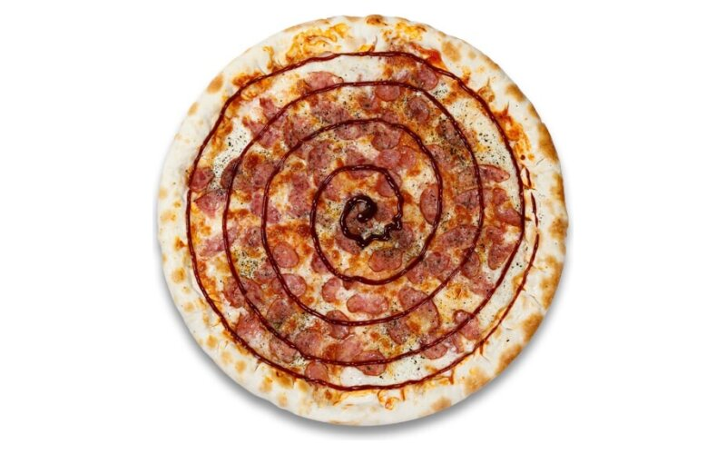 Пицца «Колбаски барбекю»
