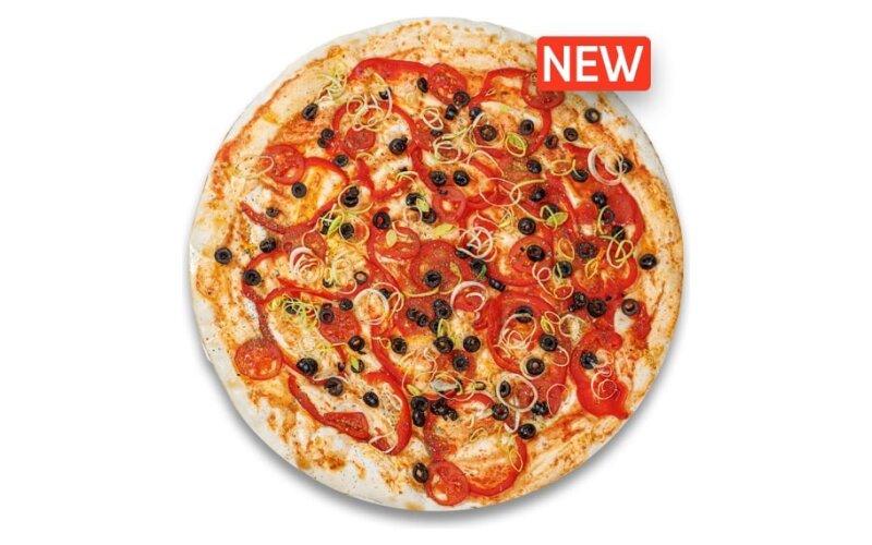 Пицца«Маслины и томат»
