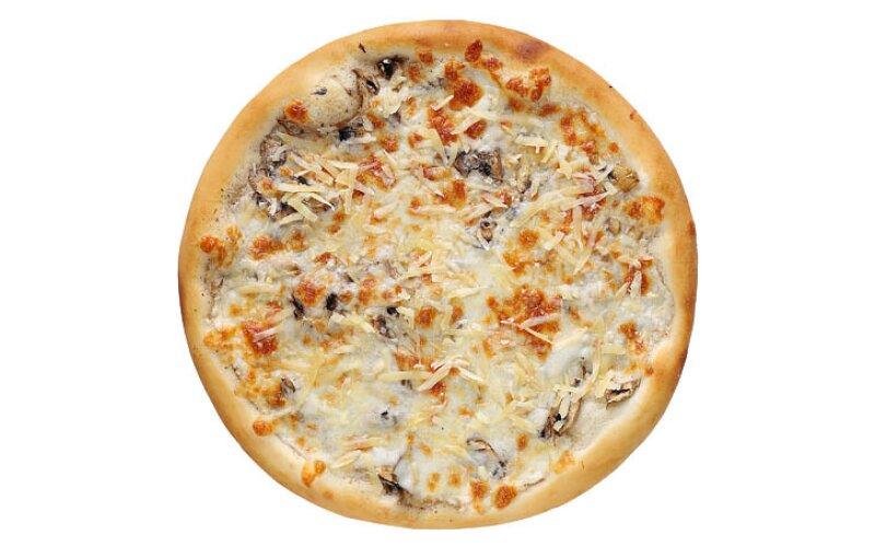 Пицца «Вёшенка-трюфель-пармезан»