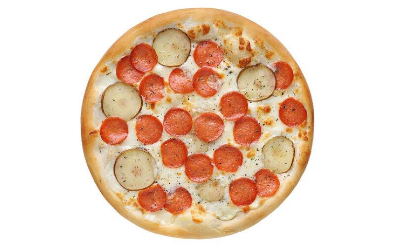 Пицца «Пепперони White»