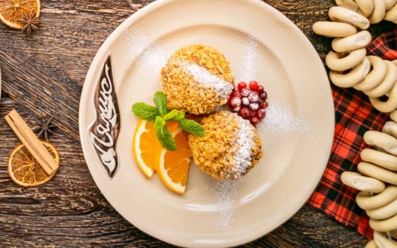 Десерт «Угощение ёжика Фанни»