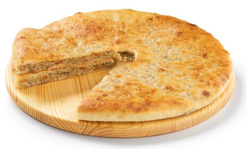 Пирог «Осетинский» с капустой