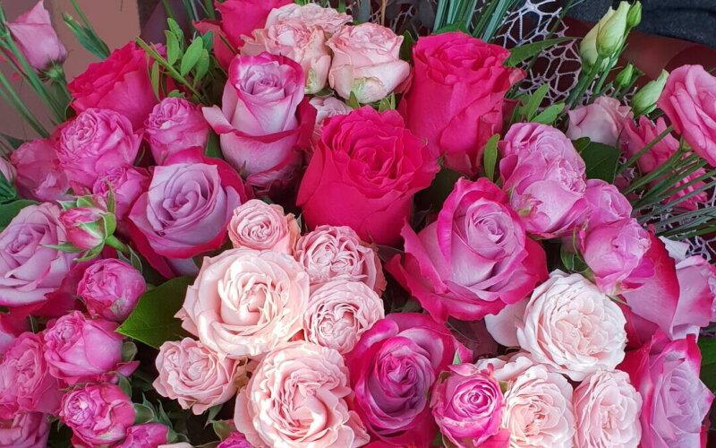Букет «Розовый микс»
