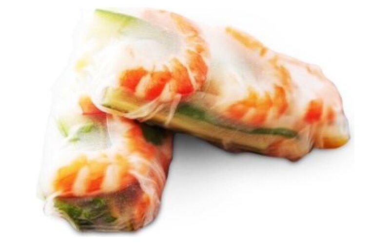 Фреш-ролл с креветками