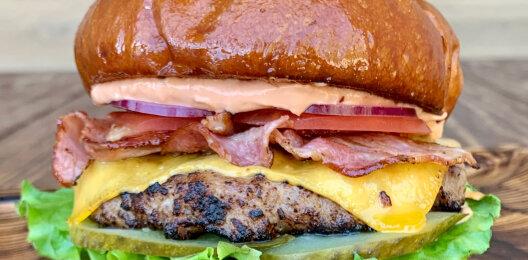 Бургер «Классик» (свинина+говядина)