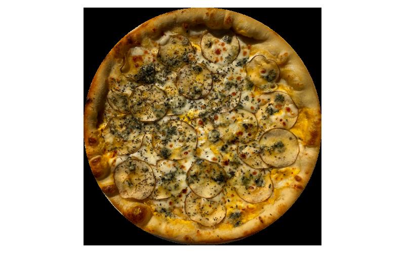 Пицца «Груша и данаблю»