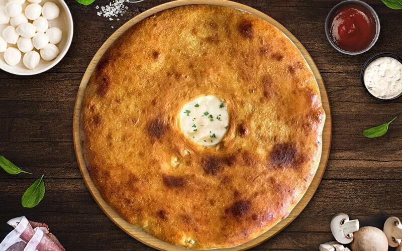 Пирог «Карбонара»