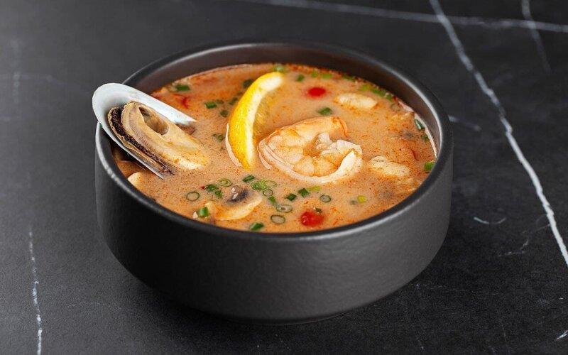 Суп «Том Ям Кунг»