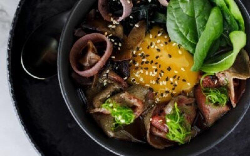 Суп «Рамен» с говядиной