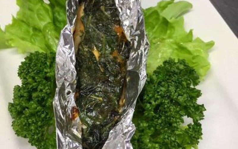 Филе норвежского лосося в фольге