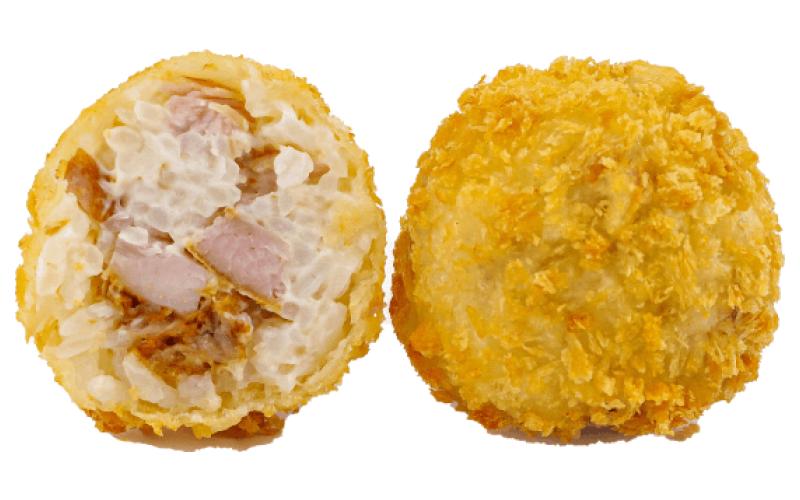 Рисовые шарики с курицей