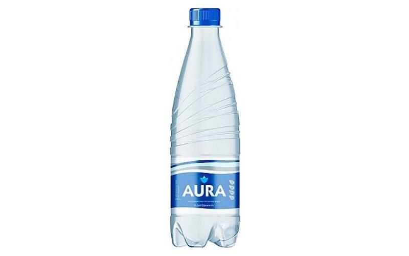 Вода питьевая Аура газированная
