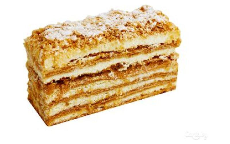 Пирожное слоёное Наполеон
