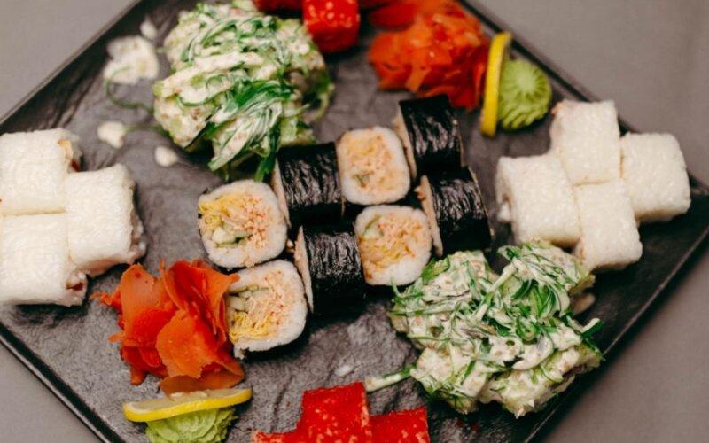 Суши-сет «Блек, грин, вайт»