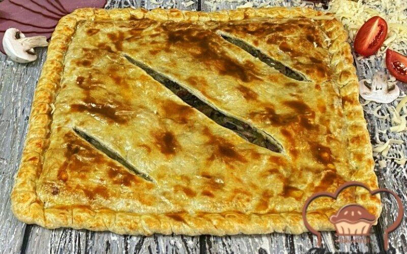 Пирог «Биф BBQ»