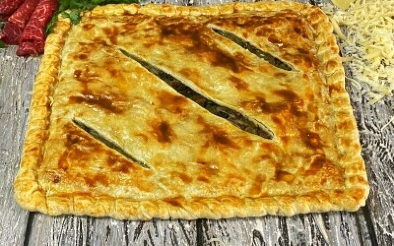 Пирог «Болоньезе»