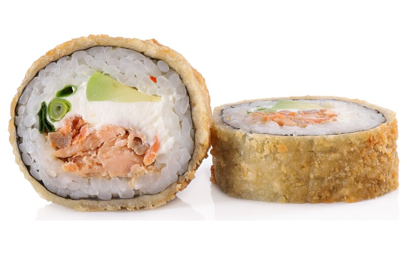 Ролл «Панко» с  лососем