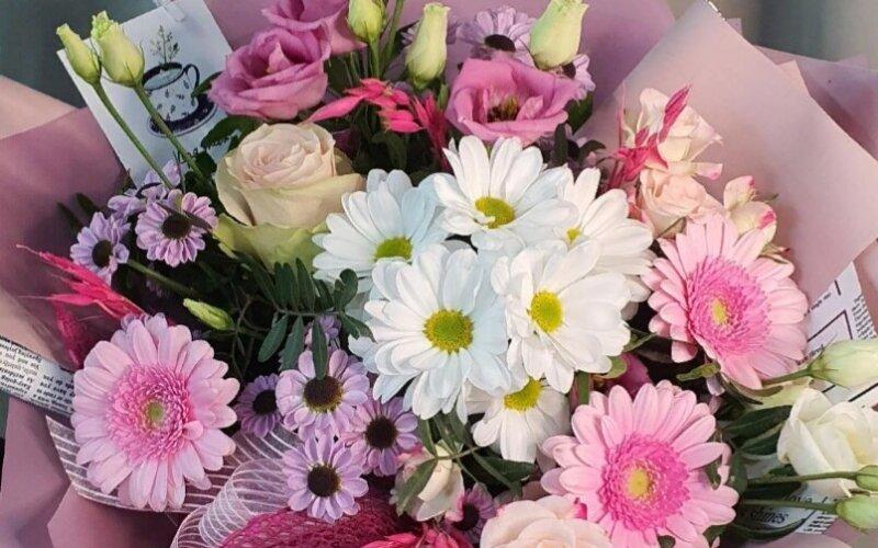 """Букет цветов «Розовые сны """""""
