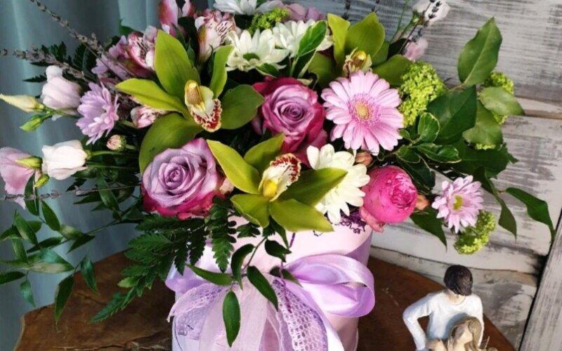 Коробка цветов «Изыск»