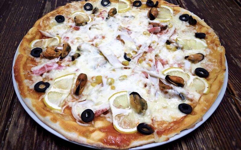Пицца «Дары моря»