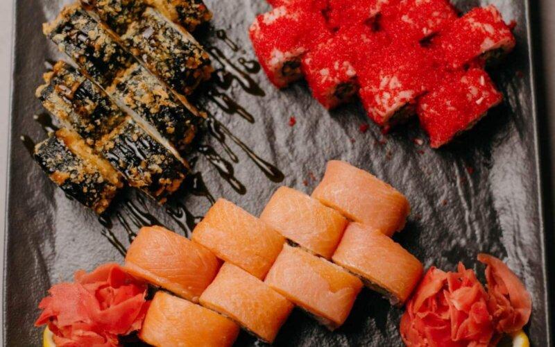 Суши-сет «Раки-маки»