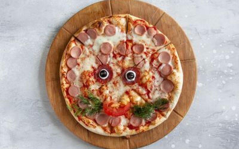 Пицца-котик