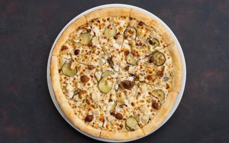 Пицца «Жюльен с грибами»